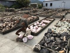 Chapman's Gem & Mineral Shop & Museum is located in Fortuna. It's open 7 days a week, except for a few major holidays each year. California Travel, Northern California, Crescent City California, Great Places, Places To Go, Gem Hunt, Gem Store, Hiking Places, Fossil Hunting