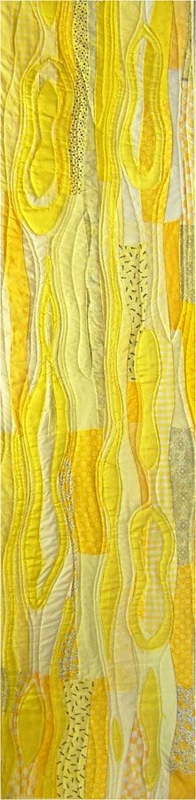 Mellow Yellow by Margaret O'Gorman | Turning Point textile design group