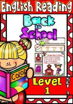 English Reading - Back to School - Guided Reading Passag