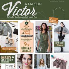Vous souhaitez réaliser vous-même les vêtements et les accessoires de vos rêves ? Dans ce cas, le magazine La Maison Victor est fait pour vous !