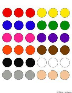 Renk eşleştirme Montessori Activities, Activities For Kids, Crafts For Kids, Color Unit, Color Puzzle, File Folder Games, Petite Section, Color Games, My Little Baby
