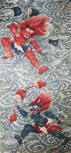 "Wind God and Thunder God Screens (""Fujin Raijin-zu"")"