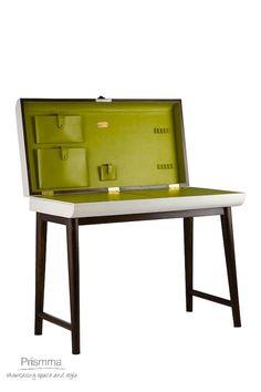 leather furniture Portside Cafe #leatherfurnitureindia #leatherdesk