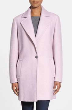 Calvin Klein Blouclé Walking Coat available at #Nordstrom