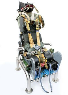 "Ejection Seat Office Chair... for when you need to ""punch out"" of a meeting."
