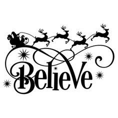 Silhouette Design Store: Personalized Name Elf - believe - Christmas Stencils, Christmas Vinyl, All Things Christmas, Christmas Sayings, Christmas Projects, Christmas Crafts, Christmas Decorations, Christmas Nails, Silhouette Projects