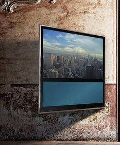 Though my folks didn't have much money, they saved and saved and saved and bought a Bang & Olufsen TV. Looking back it was a shrewd investment - the thing lasted twenty-five years.  Though I hardly watch TV, if I could, I'd invest in one of these.