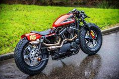 Harley Davidson News – Harley Davidson Bike Pics Sportster Cafe Racer, Buell Cafe Racer, Hd Sportster, Custom Sportster, Cafe Racer Bikes, Bobber Motorcycle, Motorcycle Garage, Harley Davidson Sportster, Cafe Racers
