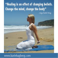 Change your beliefs to change your body