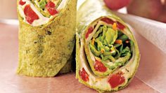Mediterranean Wrap http://www.runnersworld.com/recipes/6-high-protein-dinners-that-can-replace-chicken/slide/5