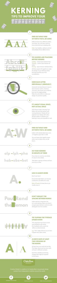 Kerning tips to improve your typography | Creative Bloq