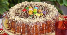 Vasilopita the Greek New Year's Cake, Vasilopita the Greek New Year's Cake Recipes, Vasilopita Recipes, Vasilopita Cake Recipes Greek Recipes, My Recipes, Holiday Recipes, Cake Recipes, Cooking Recipes, Vasilopita Cake, Vasilopita Recipe, Eat Greek, Greek Sweets