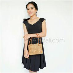 small tote handbags ethnic rattan handmade handwoven design