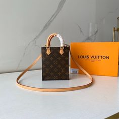 Louis Vuitton Monogram Canvas Petit Sac Plat Bag LV M69442 - Louis Vuitton Handbags