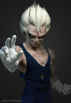ArtStation - Majin Vegeta, Andy Brüning