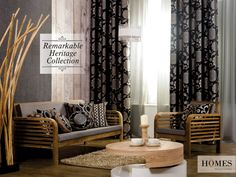 The #Collection that reminds you of your #Heritage. Explore more @ www.homesfurnishings.com #HomesFurnishings #Cushions #HomeDecor #HomeFabrics #Furnishings #Curtains #Upholstery #HeritageCollection