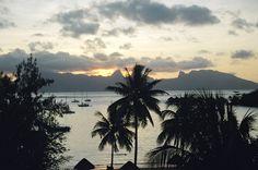 Album Tahiti / Tahiti, puesta de sol - coucher de soleil
