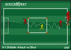 1v1, dribble, attack, shot, dribbling, shooting, drill