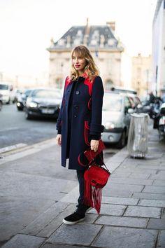 STREET STYLE A PARIS FW 2014