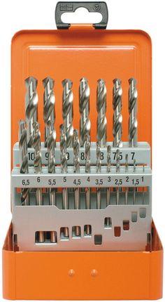 Spiralbohrer-Kassette HSS-G nach DIN 338 Typ N BASIC 19-tlg.