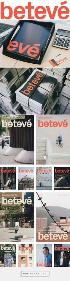Brand New: New Logo, Identity, and On-air Look for betevé by Folch... - a grouped images picture - Pin Them All