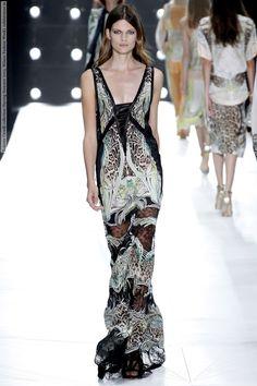 Roberto Cavalli | Roberto Cavalli collection (Spring-Summer 2013, Milano Fashion Week ...