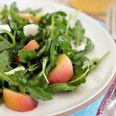 Peach and Arugula Salad