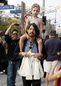 Dave and Violet Grohl