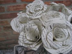 Harry Potter Rose Bouquet. Perfect for First Anniversary, Weddings, Birthdays. Unique Gift. CUSTOM ORDERS WELCOME.. $60.00, via Etsy.