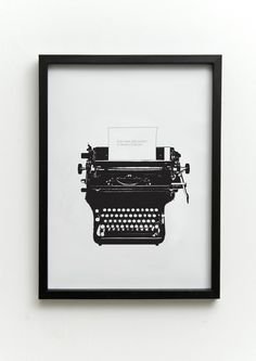 Print your own clip art with a personal message on the paper and frame it