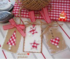 dulces pilukas: Etiquetas para tus regalos de Navidad.                                                                                                                                                                                 Más