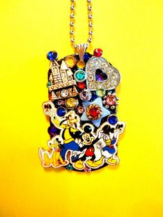 Character Dog Tag Pendant Number 1059 by BradosBling on Etsy, $34.99