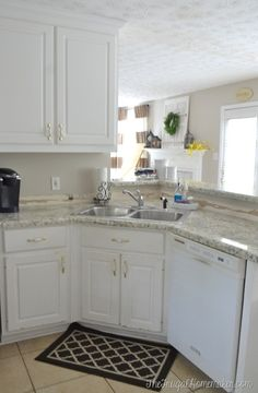 Installing laminate counters (Kitchen makeover)