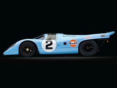 """In Sept, 1969, Ferry Porsche and Ferdinand Piech met John Wyer of JW Automotive Engineering/Gulf Team to field a factory team, which would be called """"Gulf Porsche"""".  During track testing, JWA team noticed the front of the car had dead bug splatter, but the rear had none, which meant air was not flowing over the rear and not creating down force.  To the horror of Porsche engineers, the JWA team sawed off the rear and riveted aluminum sheets to make a new rear."""