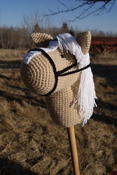 Hobby Horse Crochet Pattern by MKCuddlies on Etsy