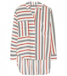 Tome Striped Silk Shirt