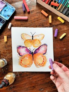 Original paintings & art prints. Illustrations and paintings of all things happy. Watercolour painting and pastel artwork, New Zealand artist. Watercolour Painting, Watercolors, Your Paintings, Original Paintings, Pastel Artwork, Butterfly, Illustrations, Art Prints, The Originals