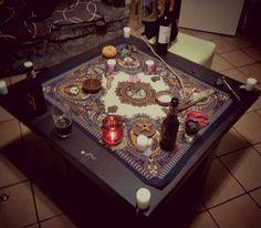 Terminando mi ritual de Samhain #Samhain #Wicca #ritualWicca