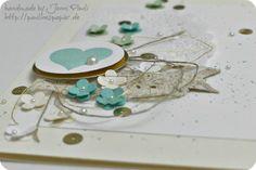 Stampin'UP! Karte als Gutschein2 Jenni Pauli J'adore !!! fleurs, coeur, perles, jeu de superpositions et ce fil un peu emmêlé...
