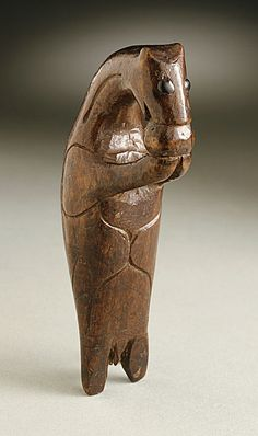 Seal Netsuke, Ainu, 18th century (from the Los Angeles County Museum of Art).