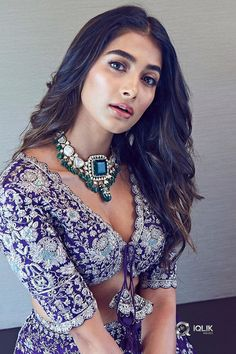 Pooja Hegde New Photos. Pooja Hedge has done her latest shoot in gorgeous dresses as a traditional statement. Pooja Hegde looks simply damn in the pics Bollywood Actress Hot Photos, Indian Actress Hot Pics, Bollywood Girls, Beautiful Bollywood Actress, Bollywood Fashion, Indian Actresses, Bollywood Style, Indian Bollywood, Beautiful Actresses