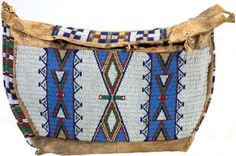 quillwork | American Indian Art:Beadwork and Quillwork, A SIOUX BEADED HIDE TIPI ...