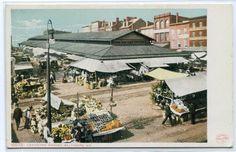 Lexington Market Baltimore Maryland 1907c postcard