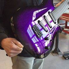 Aristides 070 SSS Purple Sparkle Burst loaded with @bareknucklepickupsofficial Cobra's! #aristides #070 #bareknucklepickups