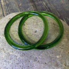 Recycled champagne bottle bracelets!