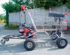 homemade go carts | Neuroti-Kart – Homemade electric cart | MAKE