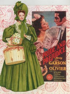 """And the reboots continue with the new and improved version of Greer Garson starring """"Pride and Prejudice"""". To see more, click here http://www.fancyephemera.com/classiccostume.html#GREERGARSON"""