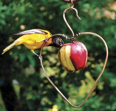 Heart Fruit Feeder - Femail Creations