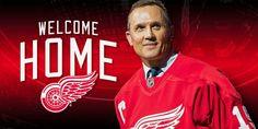 Red Wings name Steve Yzerman Executive Vice President and General Manager Detroit Red Wings, Hockey Teams, Hockey Players, Luke Glendening, Victor Hedman, Steven Stamkos, Nhl Entry Draft, Steve Yzerman, Eastern Conference Finals
