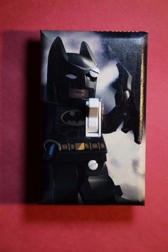 lego batman light switch cover superhero comic book boys room bedroom kid decor. beautiful ideas. Home Design Ideas